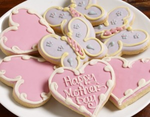 Organic Style sweet sugar cookies for mom