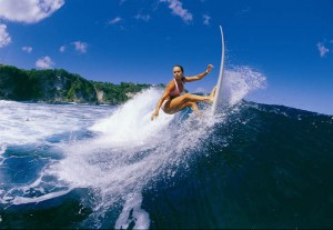 Some Of The Best Surfing Is In Bali