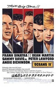 movie poster of Oceans Eleven (1960)